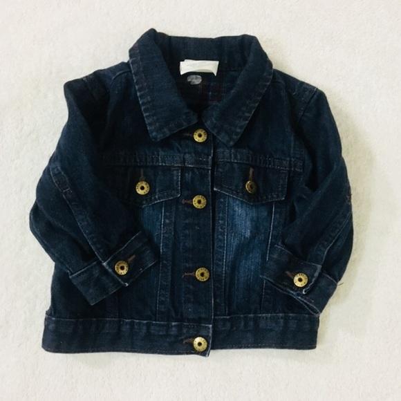 c68f4bea4700 Wrangler denim jean jacket size 18 months